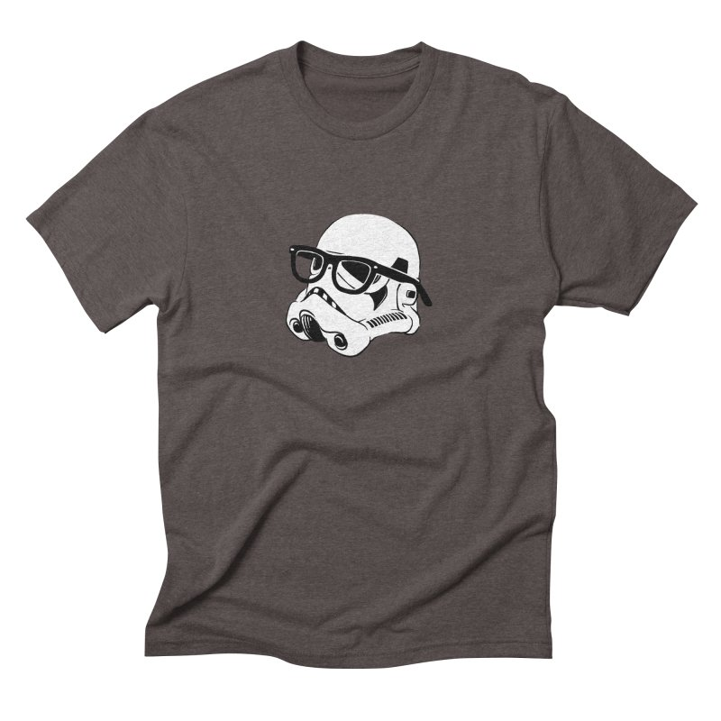 Nerd Trooper Men's Triblend T-Shirt by Randy van der Vlag's Shop