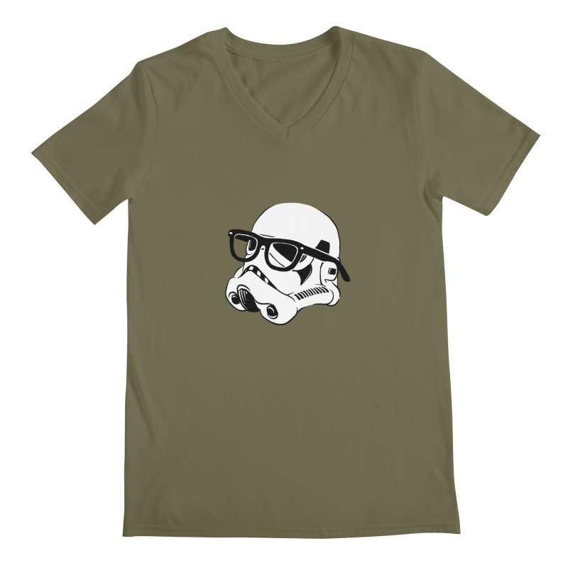 Nerd Trooper Men's V-Neck by Randy van der Vlag's Shop