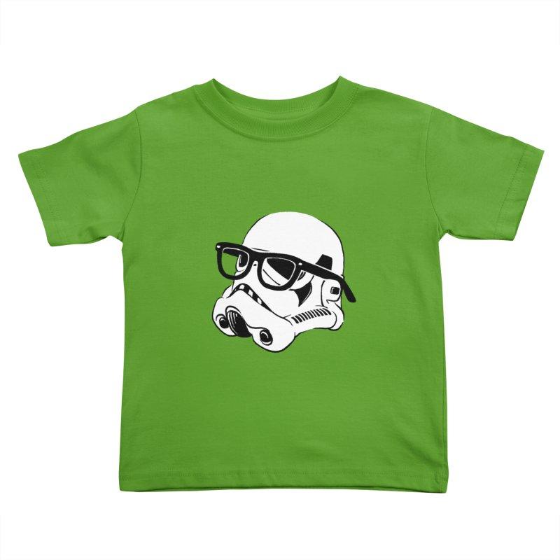 Nerd Trooper Kids Toddler T-Shirt by Randy van der Vlag's Shop