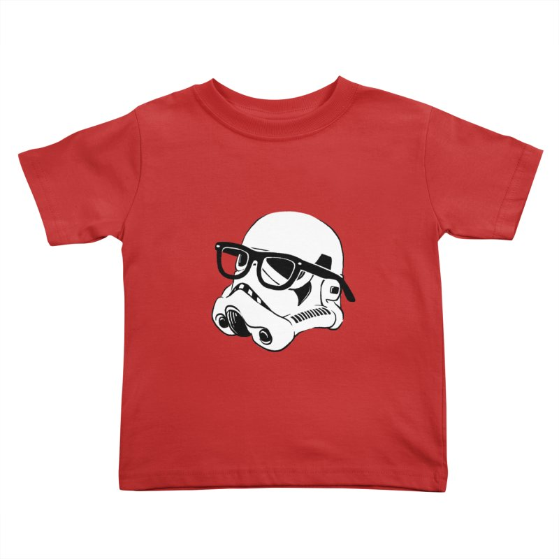 Nerd Trooper Kids Toddler T-Shirt by Randy van der Vlag's Shop