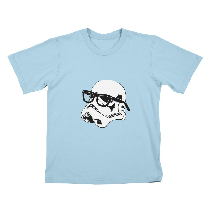Nerd Trooper Kids T-Shirt by Randy van der Vlag's Shop