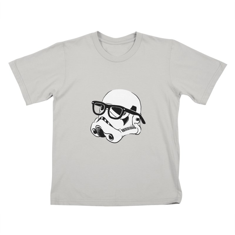 Nerd Trooper Kids T-shirt by Randy van der Vlag's Shop