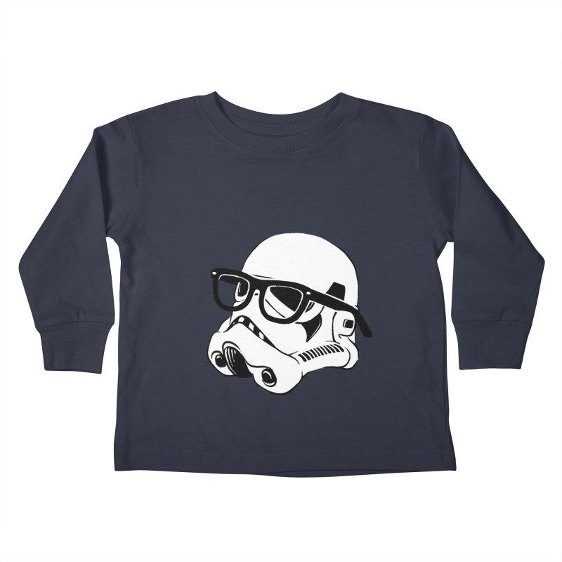 Nerd Trooper Kids Toddler Longsleeve T-Shirt by Randy van der Vlag's Shop
