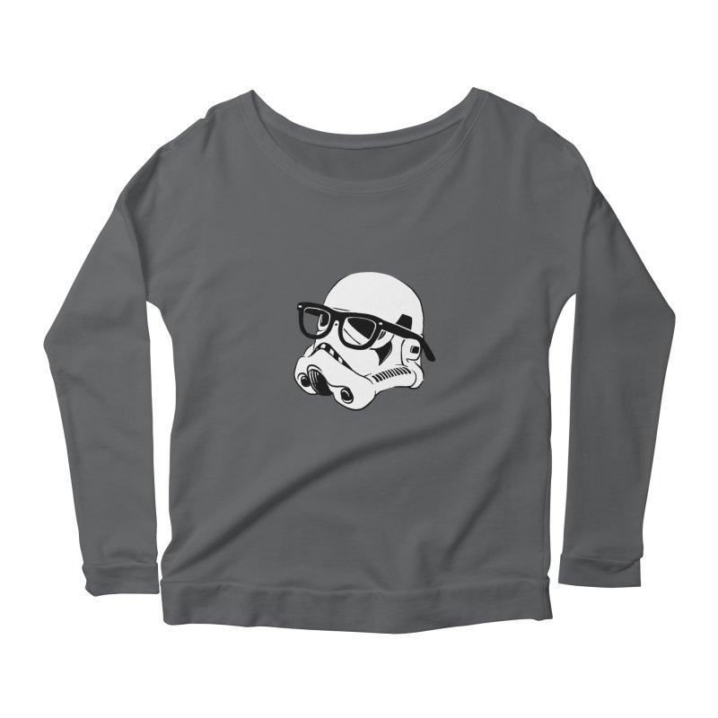 Nerd Trooper Women's Scoop Neck Longsleeve T-Shirt by Randy van der Vlag's Shop