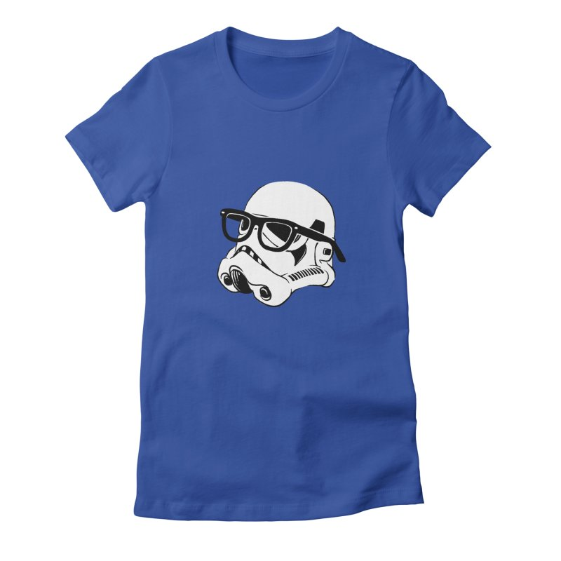 Nerd Trooper Women's Fitted T-Shirt by Randy van der Vlag's Shop