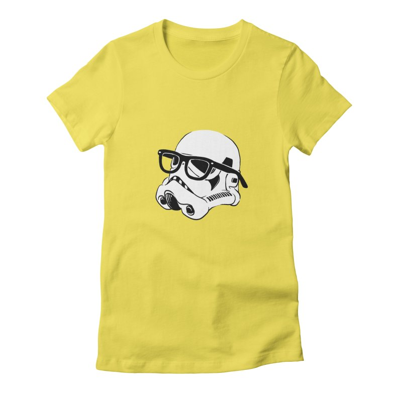 Nerd Trooper Women's Fitted T-Shirt by Randy van der Vlag's Shop