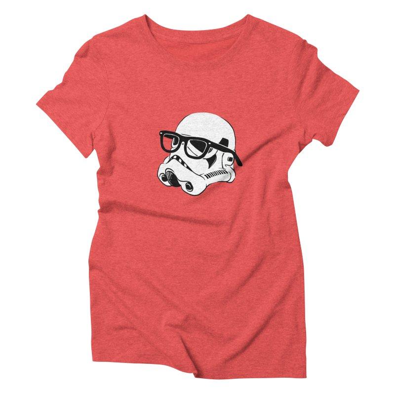 Nerd Trooper Women's Triblend T-shirt by Randy van der Vlag's Shop