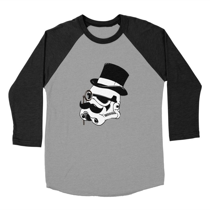 Gentleman Trooper Women's Baseball Triblend T-Shirt by Randy van der Vlag's Shop