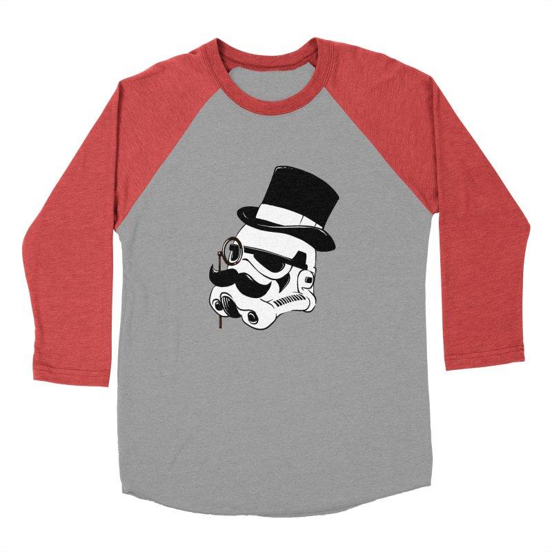 Gentleman Trooper Men's Baseball Triblend T-Shirt by Randy van der Vlag's Shop