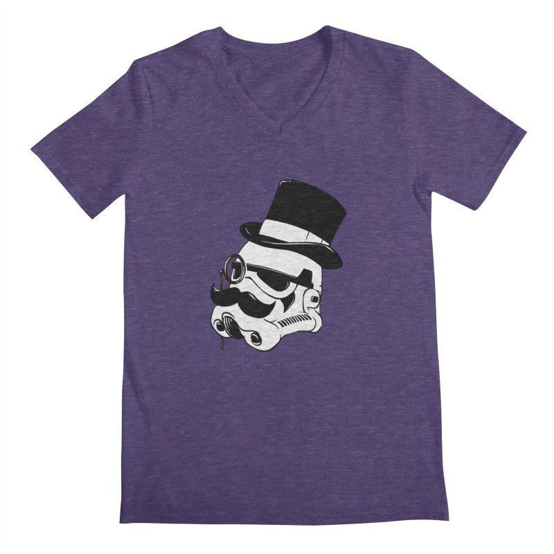 Gentleman Trooper Men's V-Neck by Randy van der Vlag's Shop
