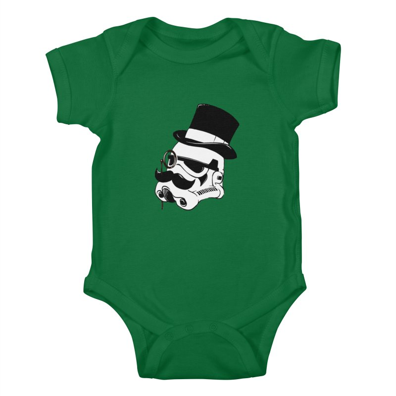 Gentleman Trooper Kids Baby Bodysuit by Randy van der Vlag's Shop