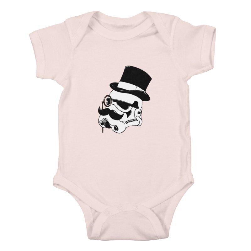 Gentleman Trooper Kids Baby Bodysuit by Randy van der Vlag's Shop