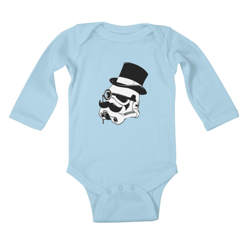 Gentleman Trooper Kids Baby Longsleeve Bodysuit by Randy van der Vlag's Shop