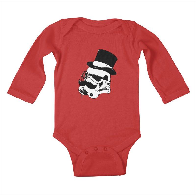 Gentleman Trooper Kids Baby Longsleeve Bodysuit by Randy van der Vlag's Shop
