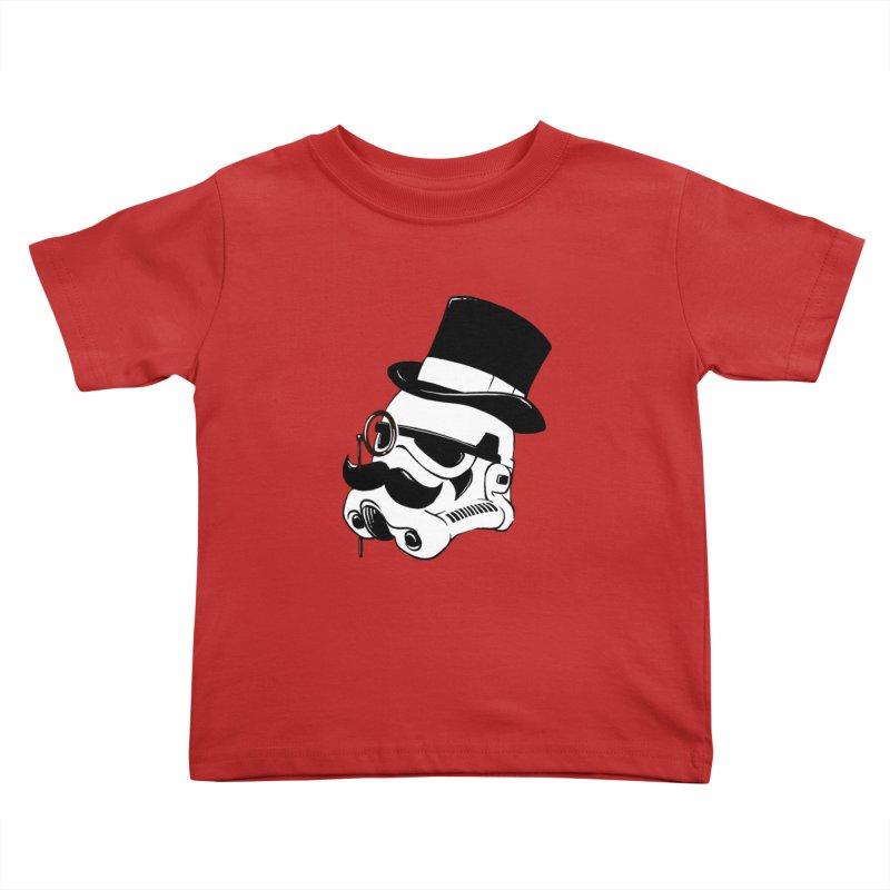 Gentleman Trooper Kids Toddler T-Shirt by Randy van der Vlag's Shop