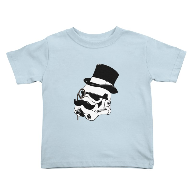 Gentleman Trooper Kids Toddler T-Shirt by Randy van der Vlag's Shop