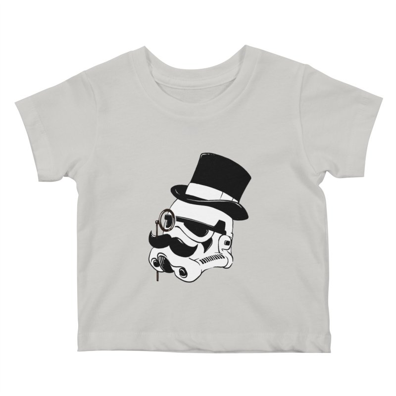 Gentleman Trooper Kids Baby T-Shirt by Randy van der Vlag's Shop