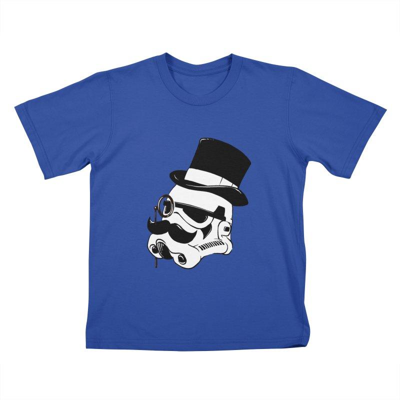 Gentleman Trooper Kids T-shirt by Randy van der Vlag's Shop