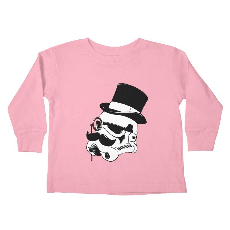 Gentleman Trooper Kids Toddler Longsleeve T-Shirt by Randy van der Vlag's Shop