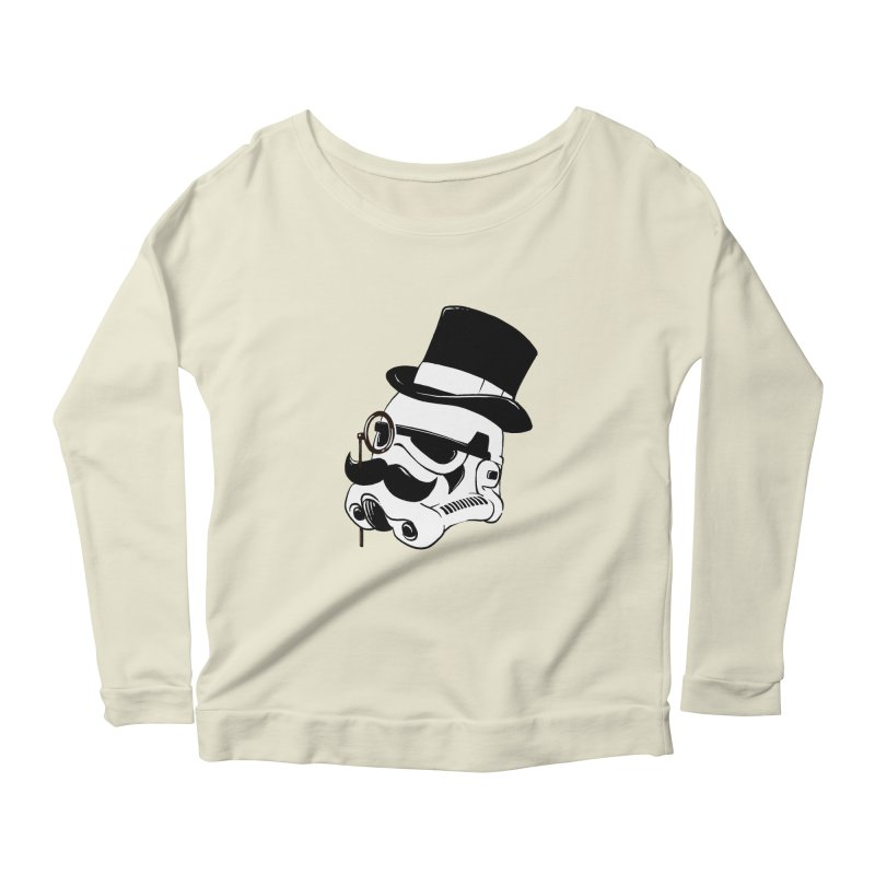 Gentleman Trooper Women's Longsleeve Scoopneck  by Randy van der Vlag's Shop