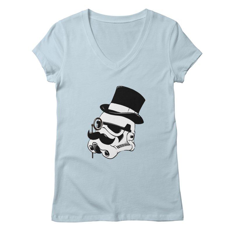 Gentleman Trooper Women's Regular V-Neck by Randy van der Vlag's Shop