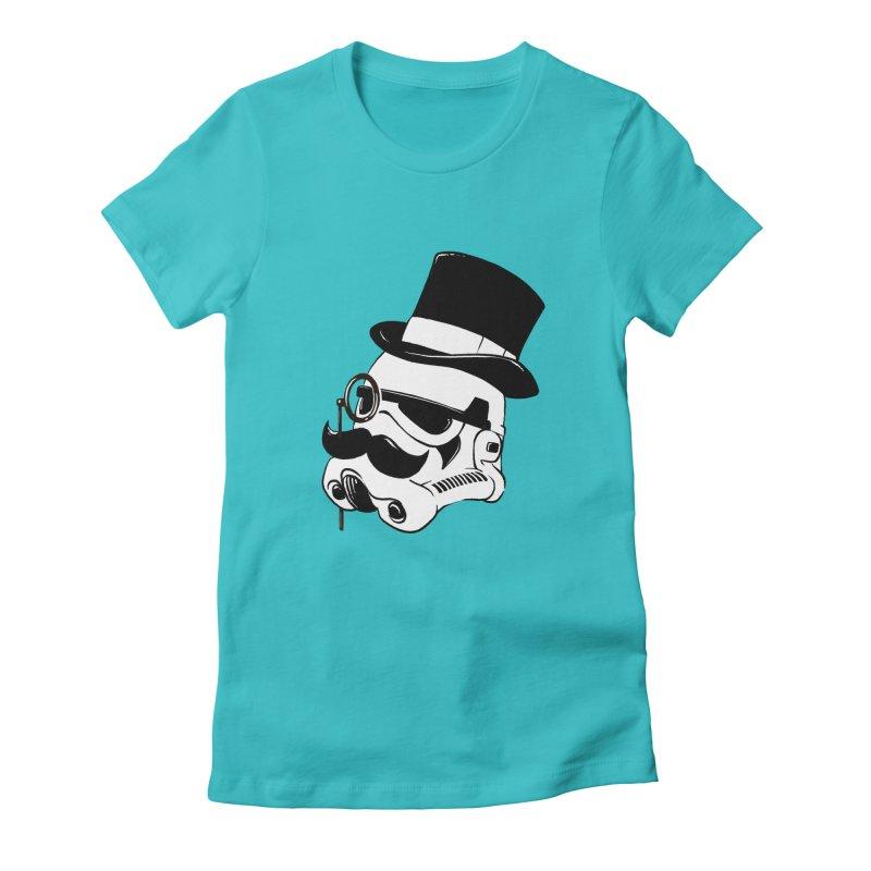 Gentleman Trooper Women's Fitted T-Shirt by Randy van der Vlag's Shop