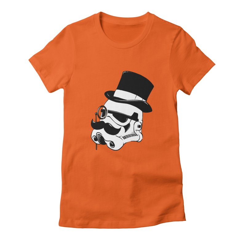 Gentleman Trooper Women's Fitted T-Shirt by Randy van der Vlag's Shop