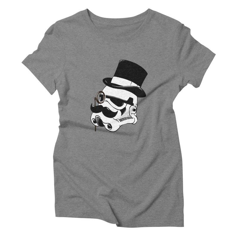 Gentleman Trooper Women's Triblend T-shirt by Randy van der Vlag's Shop