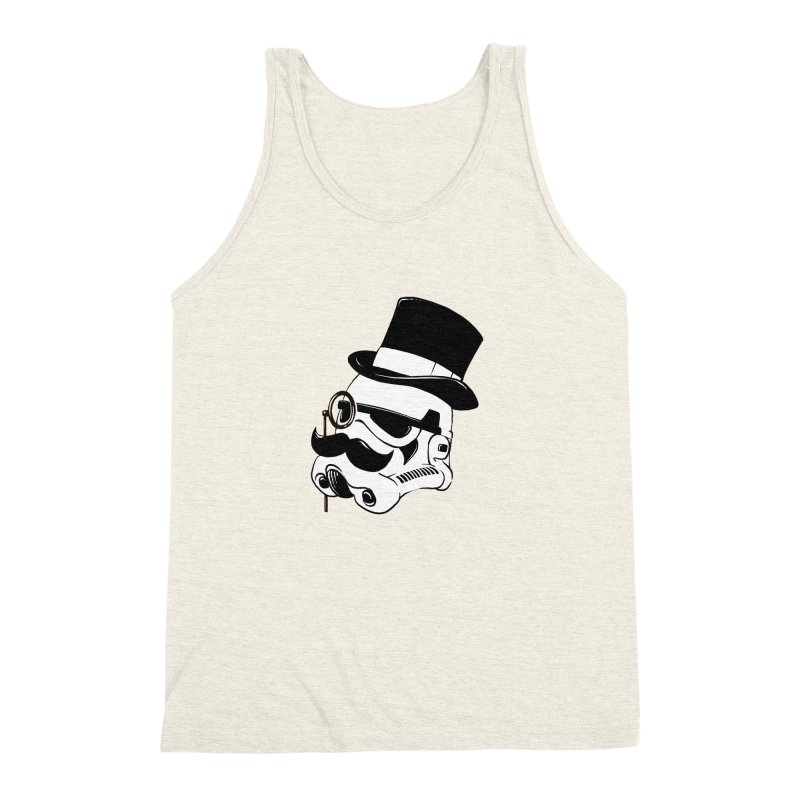 Gentleman Trooper Men's Triblend Tank by Randy van der Vlag's Shop