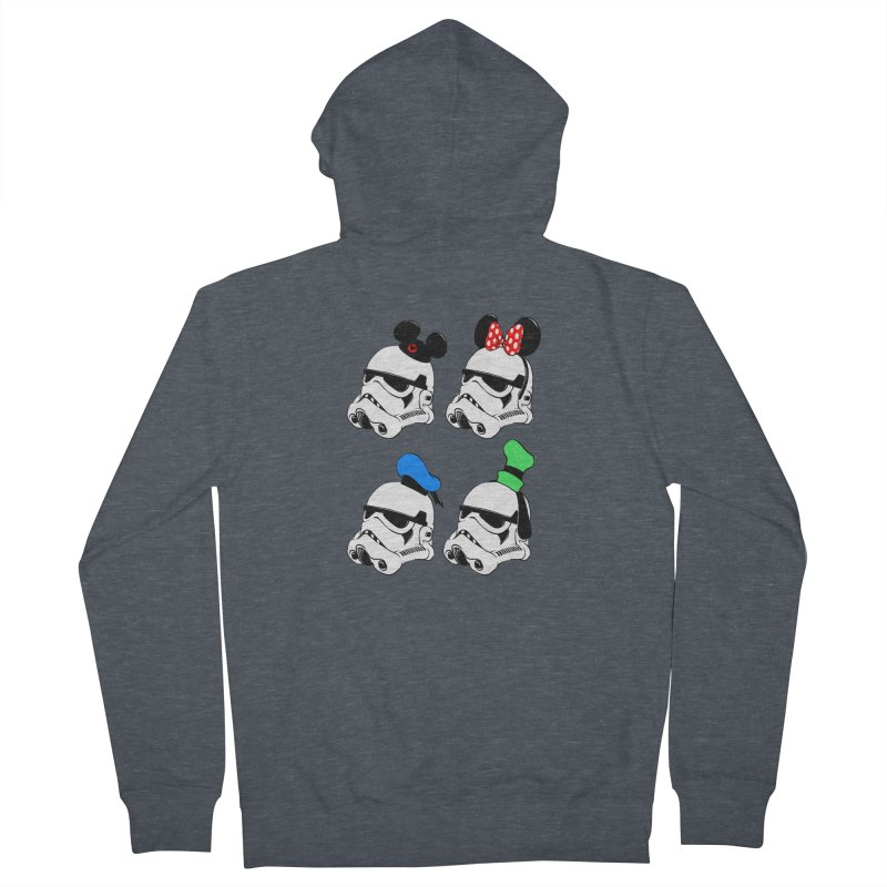 Park Troopers Men's Zip-Up Hoody by Randy van der Vlag's Shop