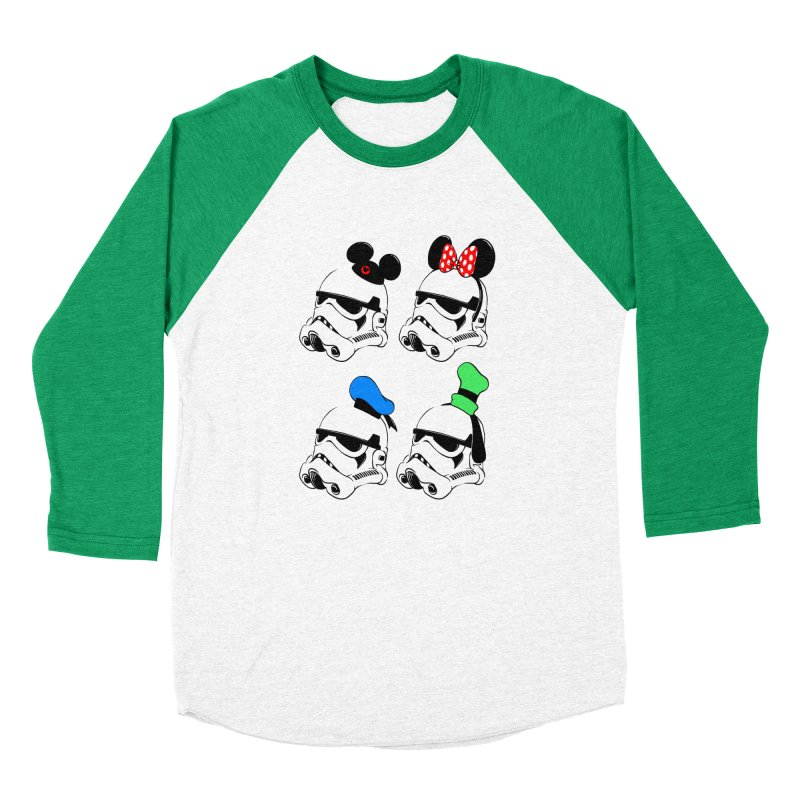Park Troopers Women's Baseball Triblend T-Shirt by Randy van der Vlag's Shop