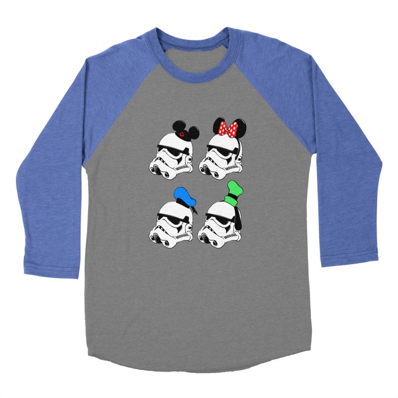 Park Troopers Men's Baseball Triblend T-Shirt by Randy van der Vlag's Shop