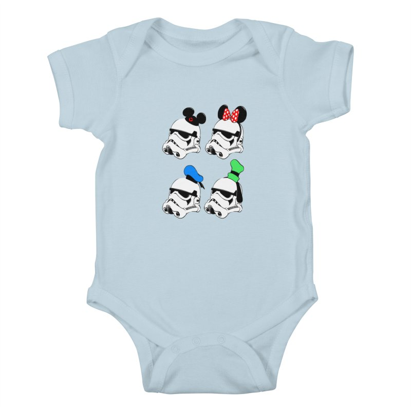 Park Troopers Kids Baby Bodysuit by Randy van der Vlag's Shop