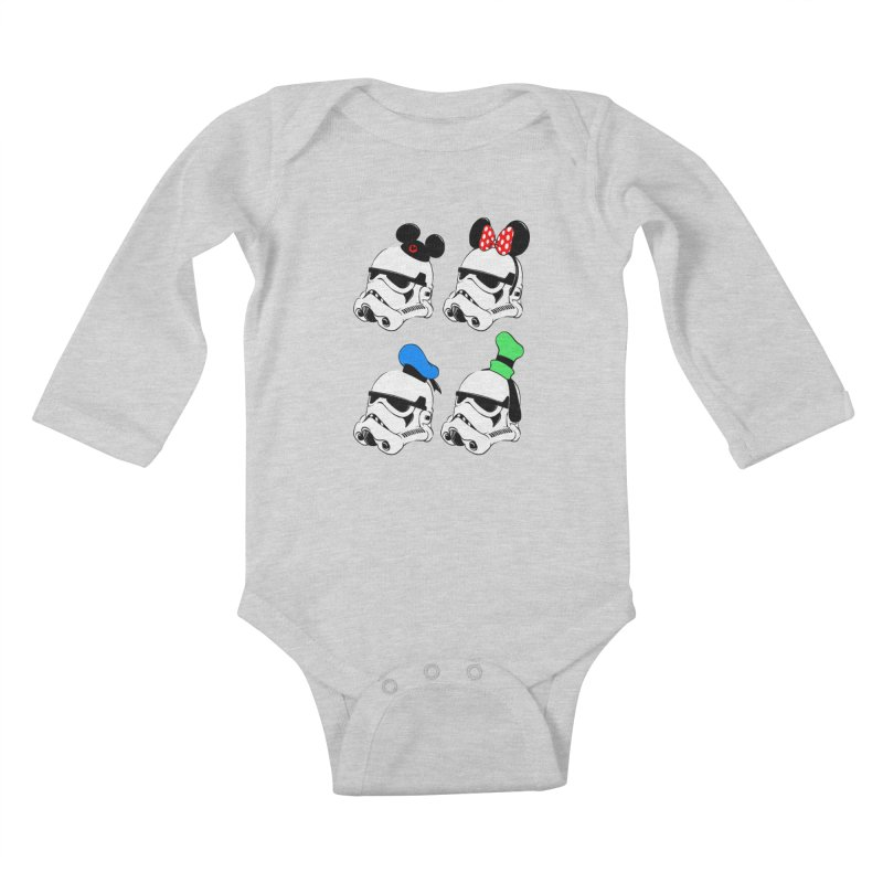 Park Troopers Kids Baby Longsleeve Bodysuit by Randy van der Vlag's Shop