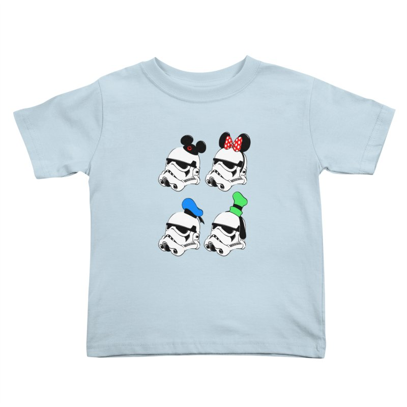 Park Troopers Kids Toddler T-Shirt by Randy van der Vlag's Shop