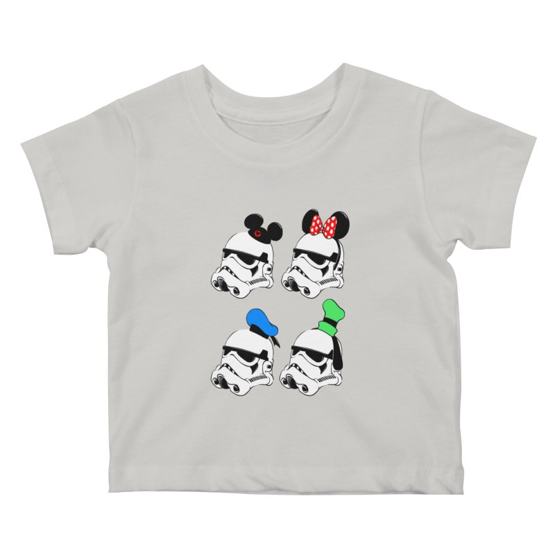 Park Troopers Kids Baby T-Shirt by Randy van der Vlag's Shop