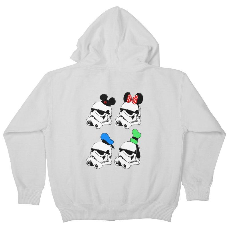 Park Troopers Kids Zip-Up Hoody by Randy van der Vlag's Shop