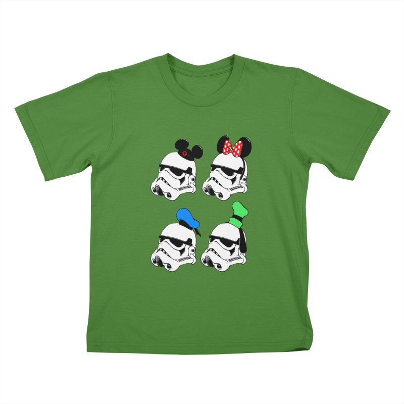 Park Troopers Kids T-shirt by Randy van der Vlag's Shop