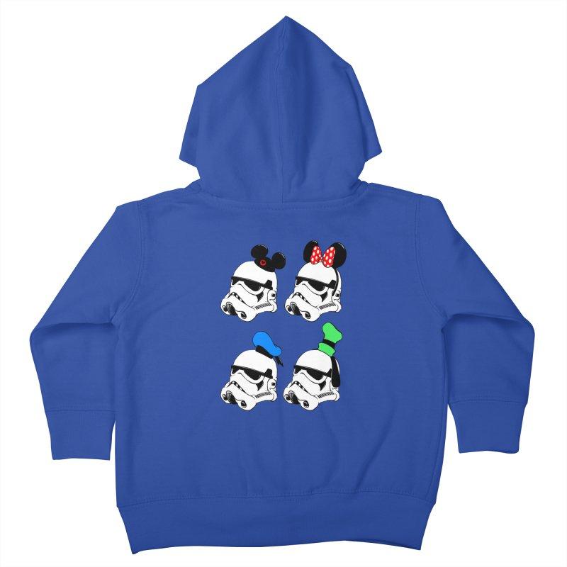 Park Troopers Kids Toddler Zip-Up Hoody by Randy van der Vlag's Shop