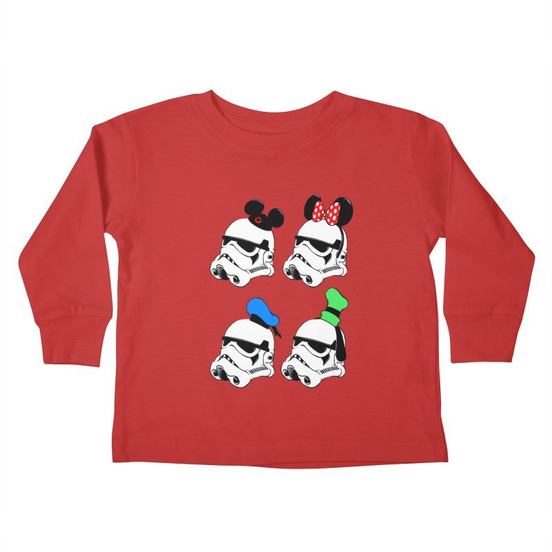 Park Troopers Kids Toddler Longsleeve T-Shirt by Randy van der Vlag's Shop