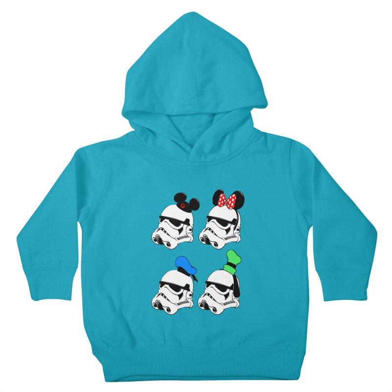 Park Troopers Kids Toddler Pullover Hoody by Randy van der Vlag's Shop