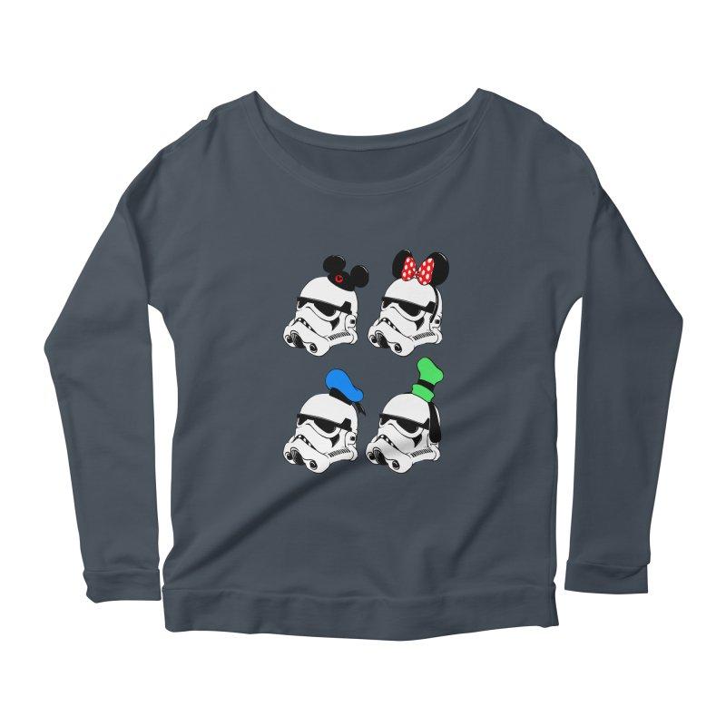 Park Troopers Women's Scoop Neck Longsleeve T-Shirt by Randy van der Vlag's Shop