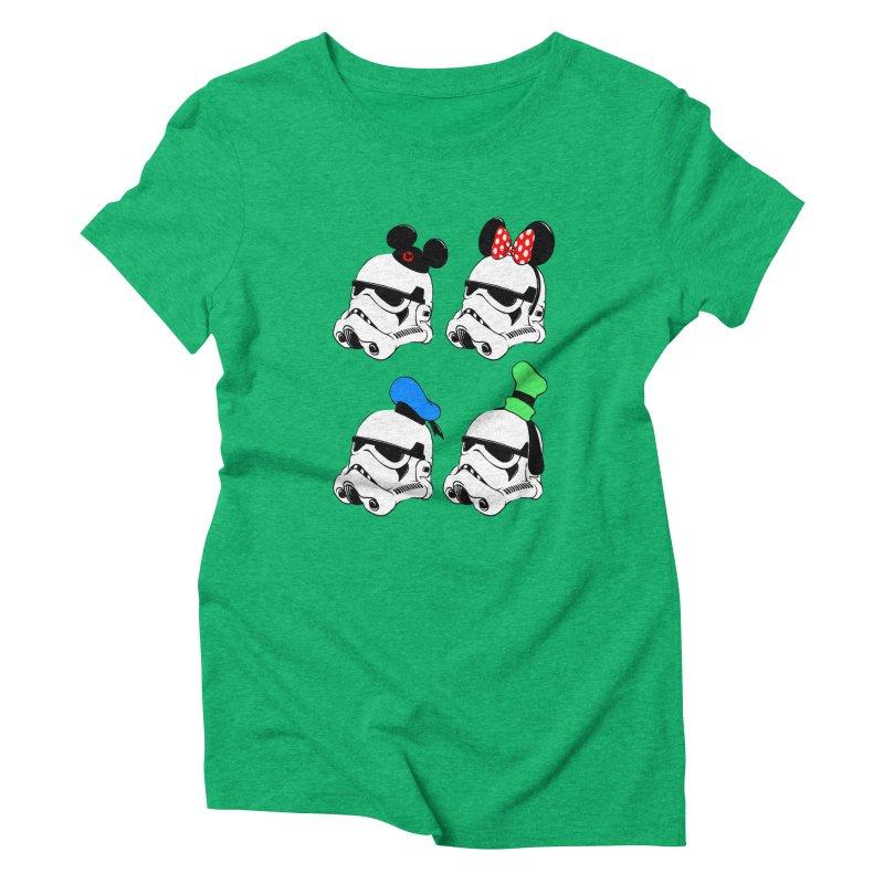 Park Troopers Women's Triblend T-Shirt by Randy van der Vlag's Shop