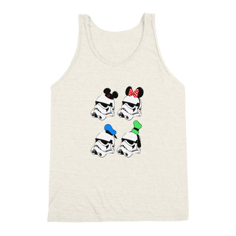 Park Troopers Men's Triblend Tank by Randy van der Vlag's Shop