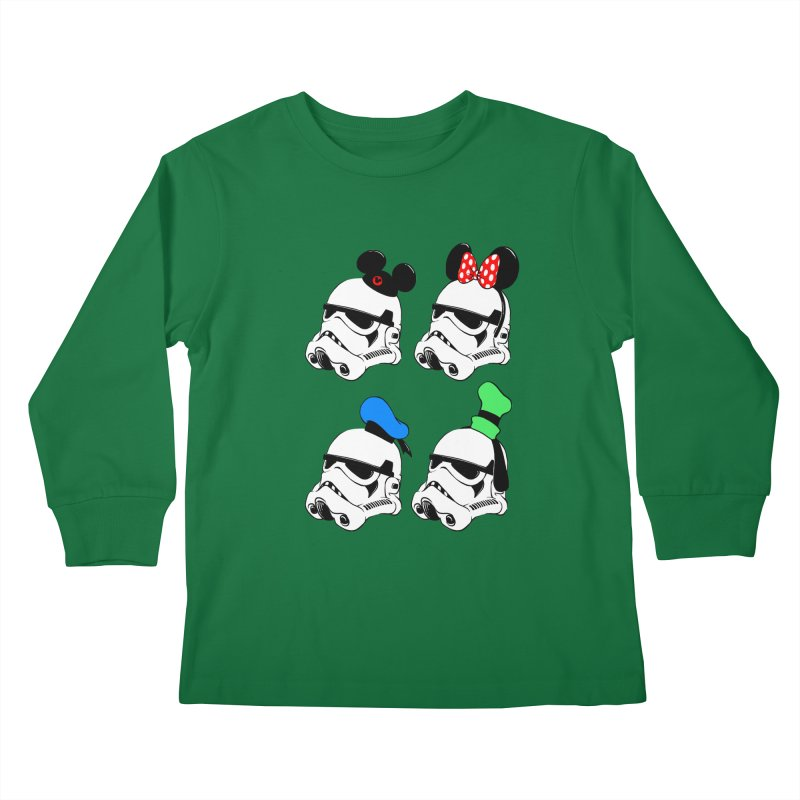Park Troopers Kids Longsleeve T-Shirt by Randy van der Vlag's Shop