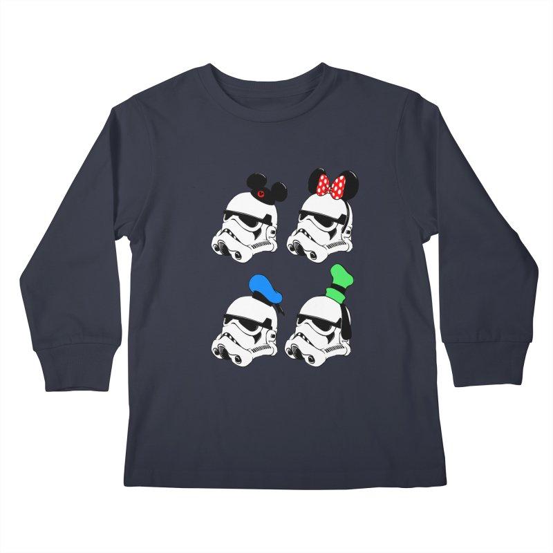 Park Troopers Kids Longsleeve T-Shirt by Randy van der Vlag's Shop