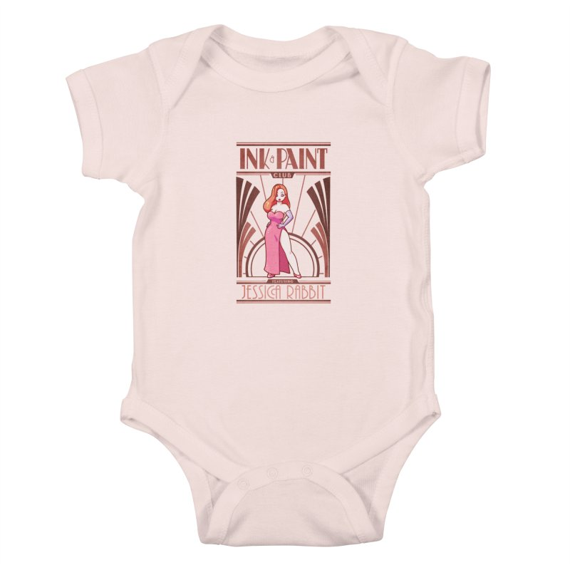 Ink & Paint Club Kids Baby Bodysuit by Randy van der Vlag's Shop