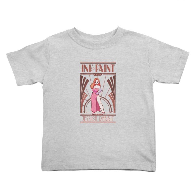 Ink & Paint Club Kids Toddler T-Shirt by Randy van der Vlag's Shop