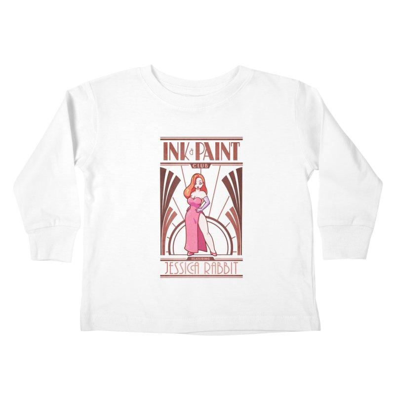 Ink & Paint Club Kids Toddler Longsleeve T-Shirt by Randy van der Vlag's Shop