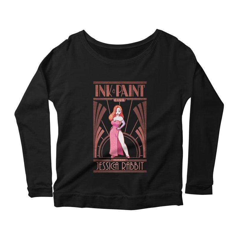 Ink & Paint Club Women's Scoop Neck Longsleeve T-Shirt by Randy van der Vlag's Shop